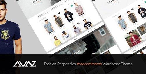 ThemeForest - Avaz v2.3 - Fashion Responsive WooCommerce Wordpress Theme (Update: 26 May 20) - 15175474