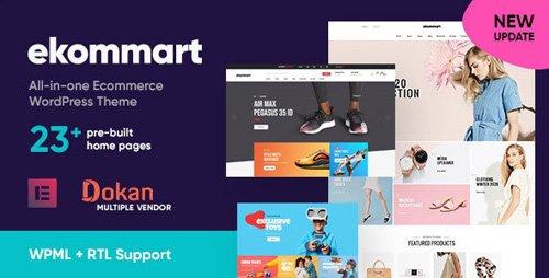 ThemeForest - ekommart v1.7.0 - All-in-one eCommerce WordPress Theme - 25893445