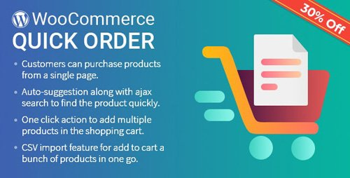 CodeCanyon - B2B Quick Order Plugin for WooCommerce v1.1.3 - 22583311