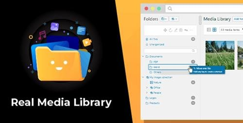 CodeCanyon - WordPress Real Media Library v4.8.4 - Folder & File Manager for WordPress Media Management - 13155134 -
