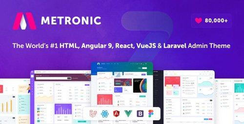 ThemeForest - Metronic v7.0.2 - Bootstrap 4 HTML, React, Angular 9, VueJS & Laravel Admin Dashboard Theme - 4021469