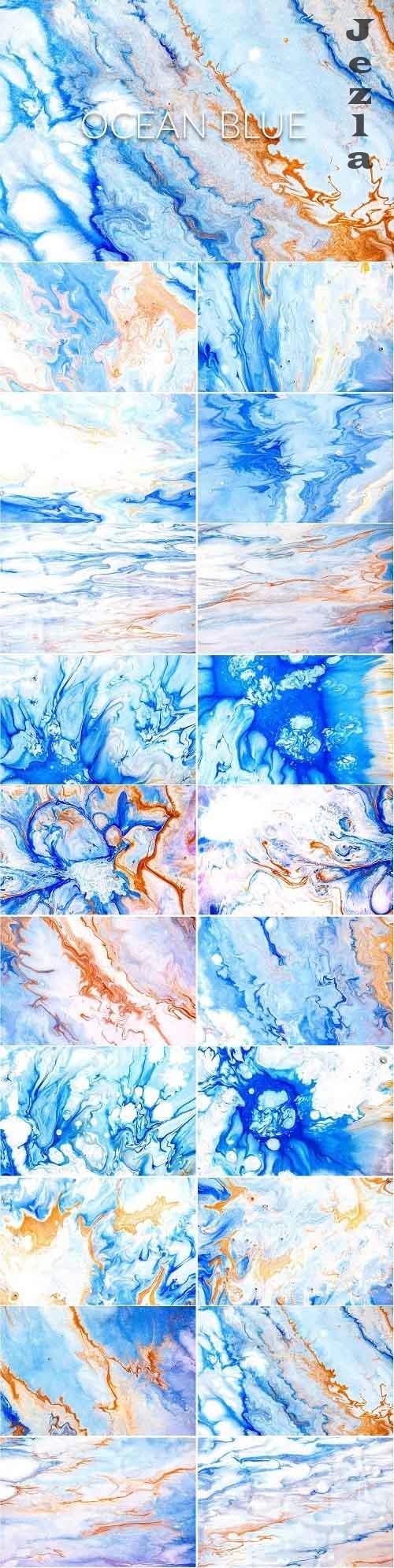 Liquid Paint - Ocean Blue - 4682606