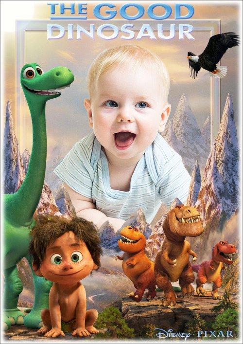 Детская рамка для фотошопа - Любимые сказочные герои мультфильмов 2