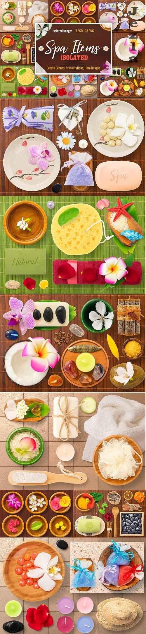 Isolated Spa Items - 1775489