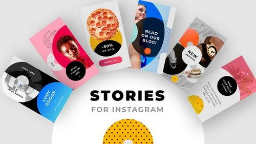 Instagram Stories Pack No.1 - Premiere Pro Template