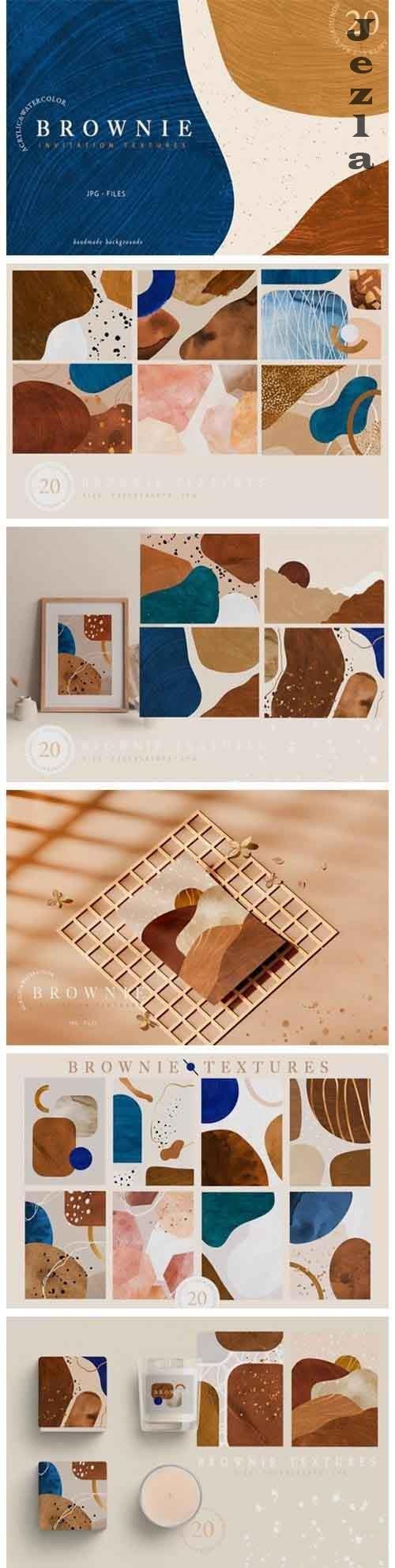 Brownie Invitation Textures - 5016646
