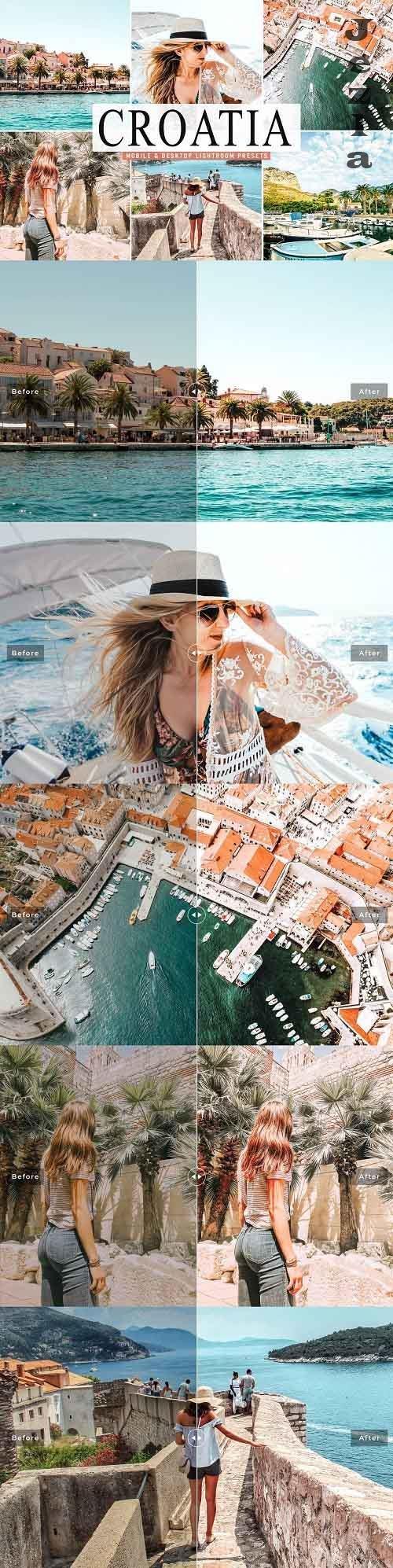 Croatia LRM Presets Pack - 5039061 - Mobile & Desktop