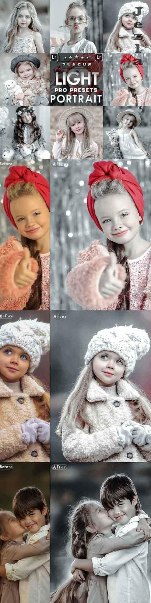 Light Portrait Presets Mobile and Desktop LRM 26656653