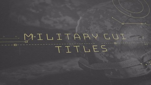 Military GUI Titles - PRMPRO Template