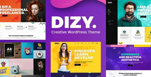 ThemeForest - Dizy v1.1.3 - Creative Portfolio Theme - 23087866