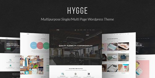 ThemeForest - Hygge v1.0.11 - Multipurpose Single/Multi Page WP Theme - 12923490