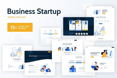 ThemeForest - Vixus v1.0 - Business Startup Template Kit - 26718466