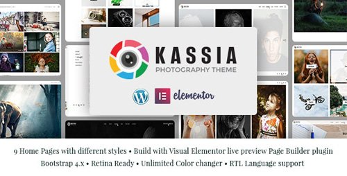 ThemeForest - Kassia v1.0 - Photography WordPress Theme - 24035763