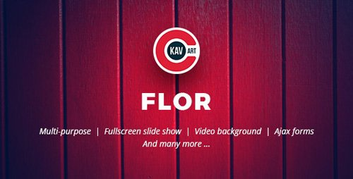 Flor v1.0 - HTML Responsive Template - 24821212