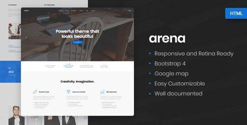 Arena v1.0 - Business & Agency HTML5 Template - 22151304