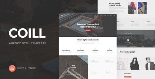 Coill v1.0 - Business & Agency HTML5 Template - 19523599