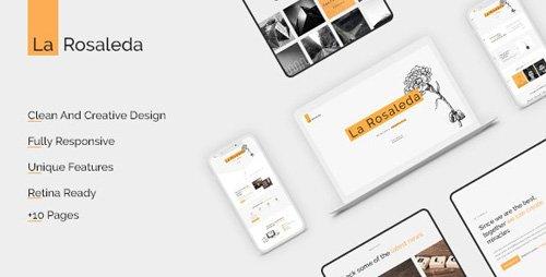 La Rosaleda v1.0 - Creative HTML Template - 25421867