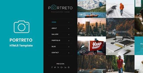 ThemeForest - Portreto v1.0 - Photography & Portfolio HTML5 Template - 20903842