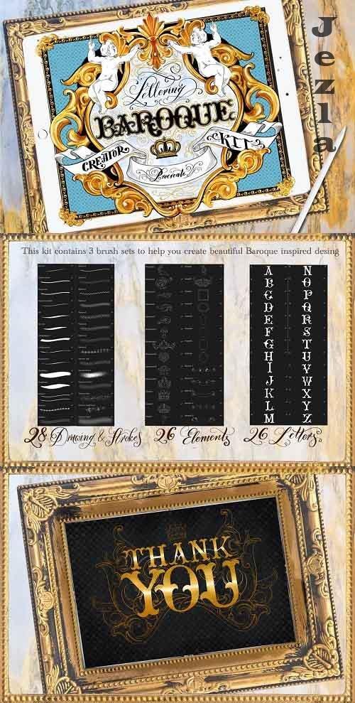 Baroque Lettering Creator Kit - 4185029