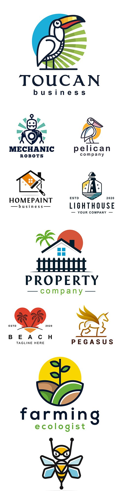 Brand name company logos business corporate design 8