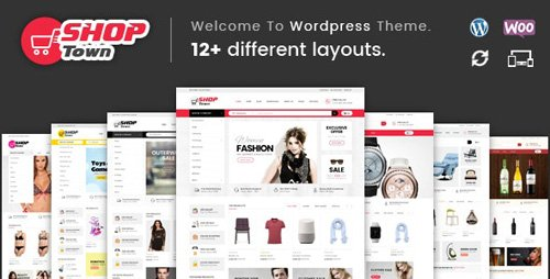 ThemeForest - Shop Town v1.0 - Multipurpose WooCommerce Theme (Update: 25 June 19) - 18371486