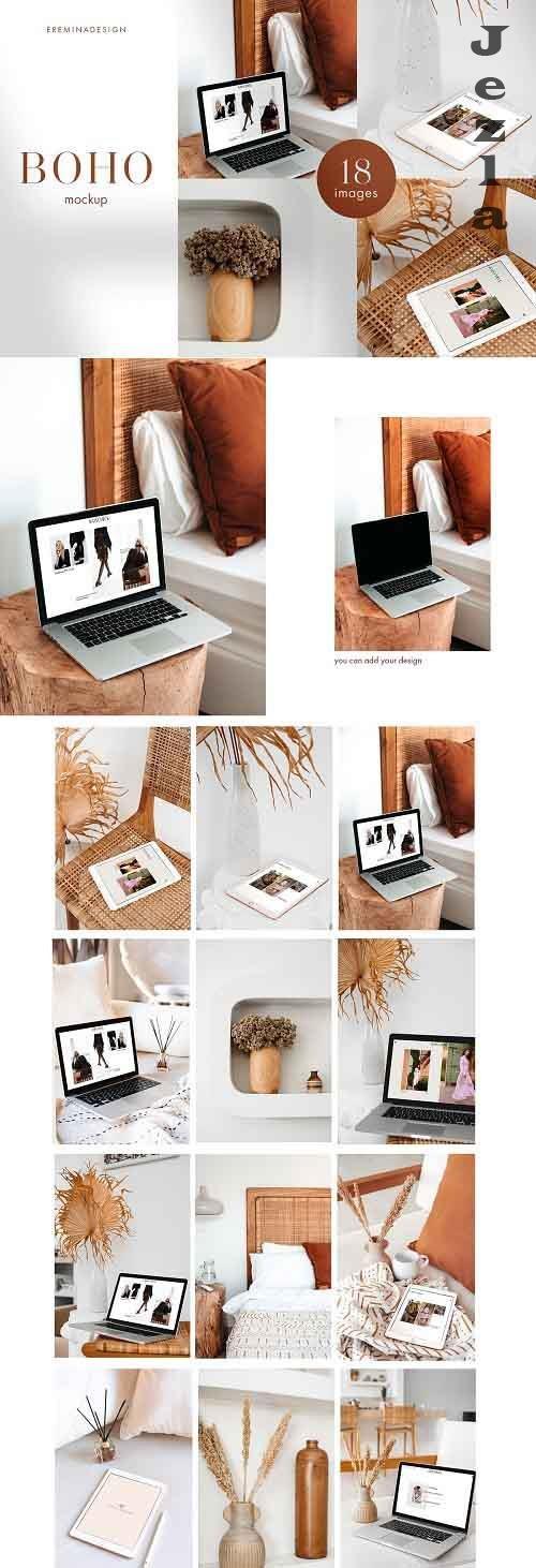 Boho Photo Mockup Bundle 5070041