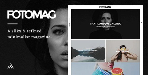ThemeForest - Fotomag v2.0.4 - A Silky Minimalist Blogging Magazine WordPress Theme For Visual Storytelling - 14967021