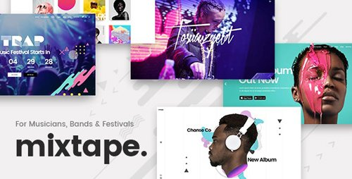 ThemeForest - Mixtape v1.8 - Music Theme for Artists & Festivals - 19984384 - NULLED