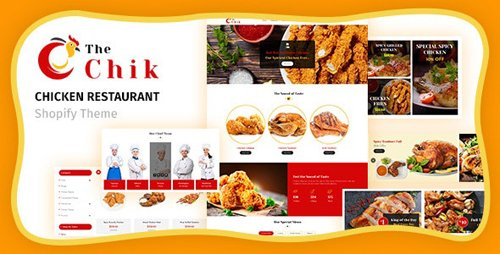 ThemeForest - Chik v1.1 - Food Shop, Restaurant Shopify Theme - 25081441