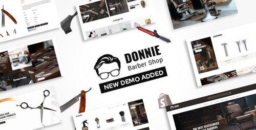 ThemeForest - Donnie v1.1 - Barber Shop Shopify Theme - 23464703