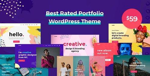 ThemeForest - Leedo v1.3.8 - Modern, Colorful & Creative Portfolio WordPress Theme - 22697428