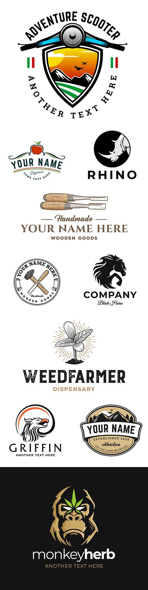 Brand name company logos business corporate design 15