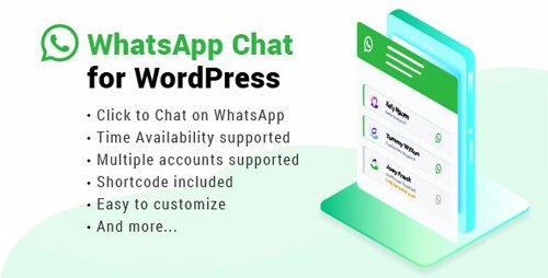 CodeCanyon - WhatsApp Chat WordPress v2.3.3 - 22800580