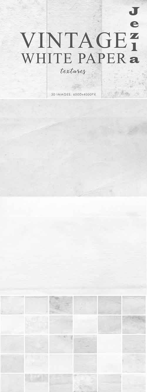 White Vintage Paper Textures 1 - 728415