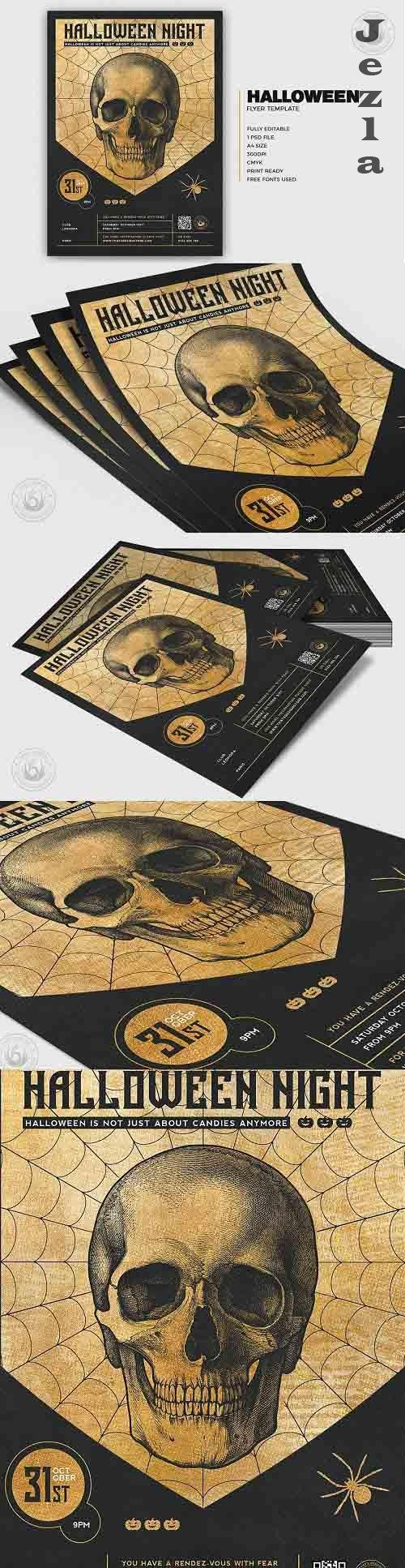 Halloween Flyer Template V26 - 5171586
