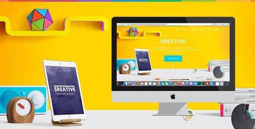 ThemeForest - Sreative v1.0 - Digital Agency HTML Template (Update: 27 January 17) - 11478307