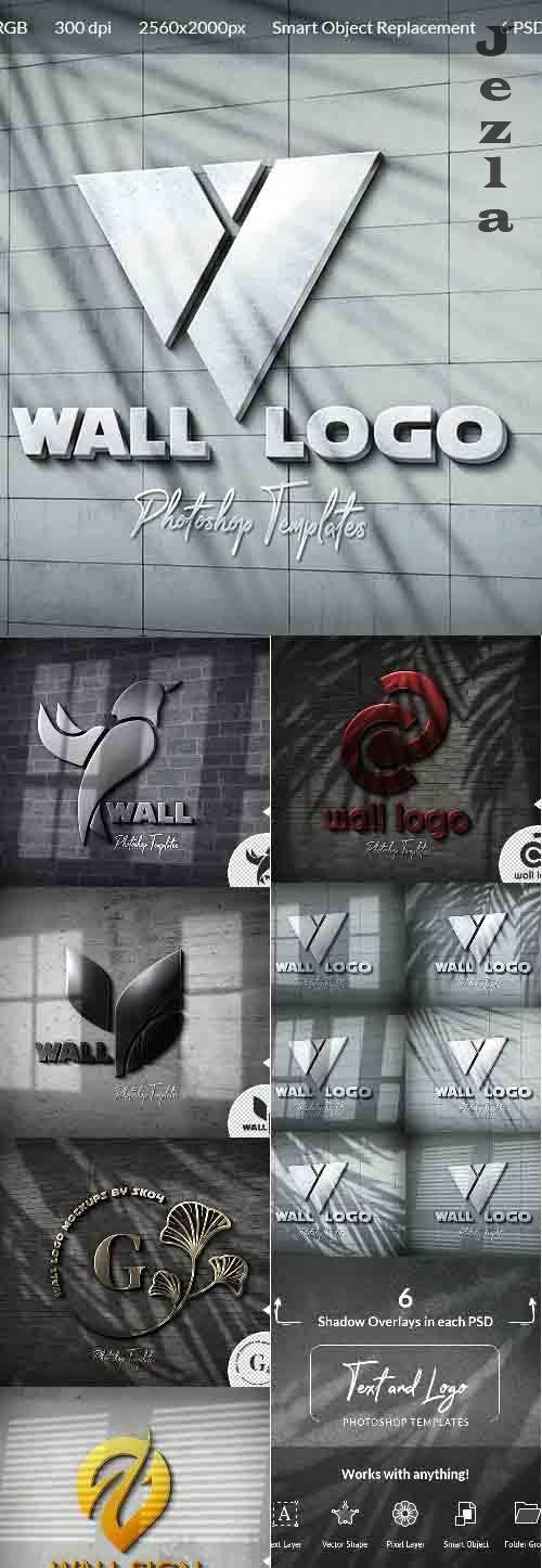 Wall Logo Sign Mockups 26496979