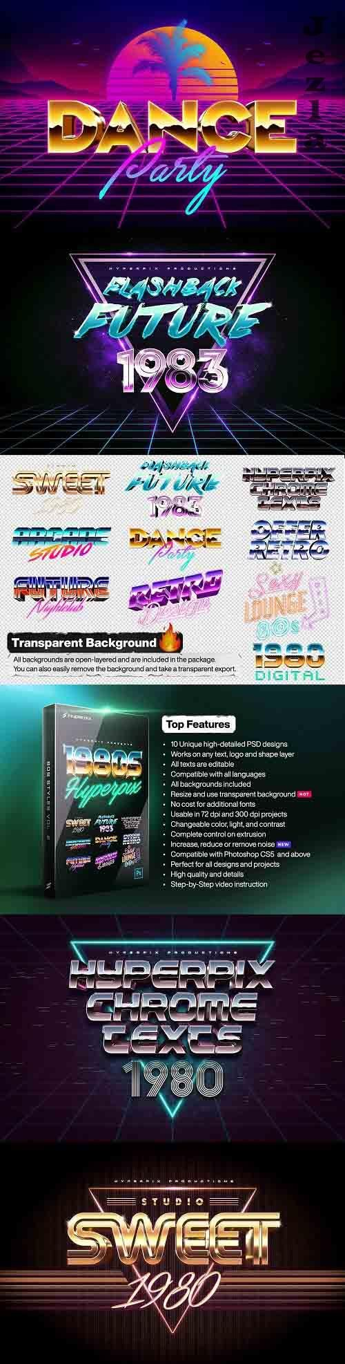 80s Text and Logo Effects Vol.2 - 3479337