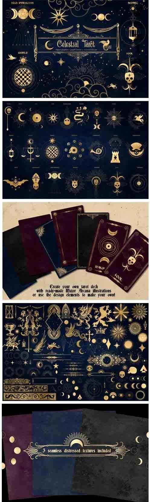 Celestial Tarot Illustrations - 5204871