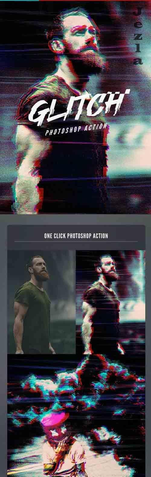 VHS Glitch PHSP Action 26591925