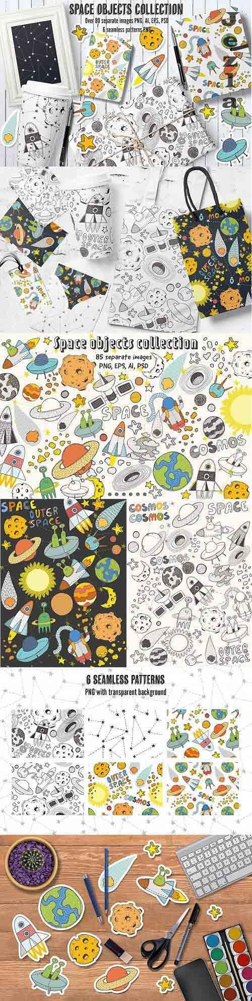 Space objects collection - 79308