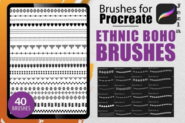 Procreate - Ethnic Boho Lines - 4622080