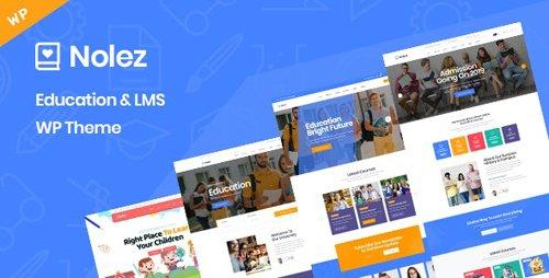 ThemeForest - Nolez v1.0 - Education WordPress Theme - 25886275