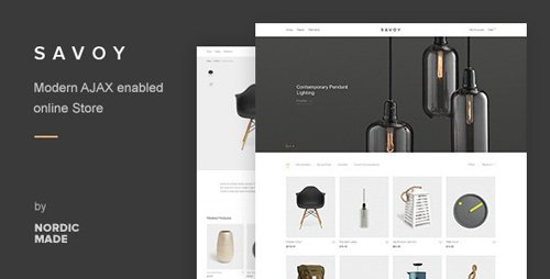 ThemeForest - Savoy v2.4.3 - Minimalist AJAX WooCommerce Theme - 12537825