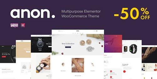 ThemeForest - Anon v1.5.3 - Multipurpose Elementor WooCommerce Themes - 25426652