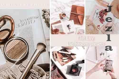 Flat Lay LRM Presets for Product Photography - 782883