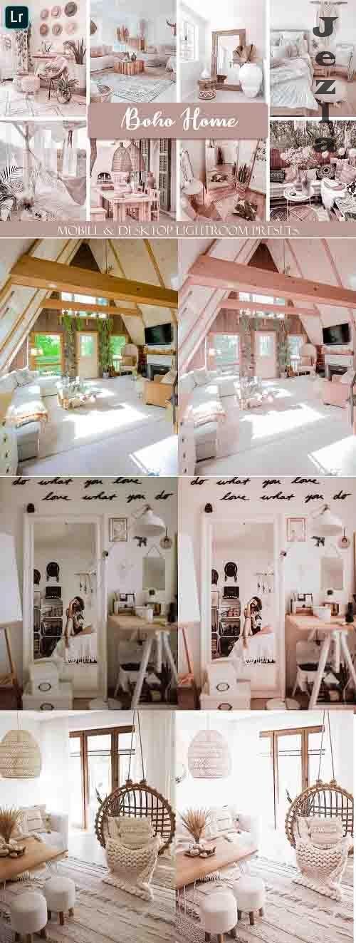 Boho Home Mobile & Desktop Ligthroom Presets - 782828