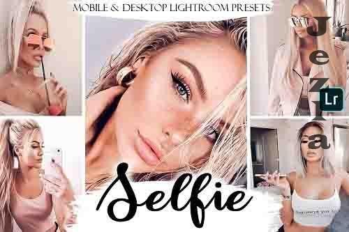 Selfie Mobile & Desktop Presets | Portrait LRM Presets - 783011