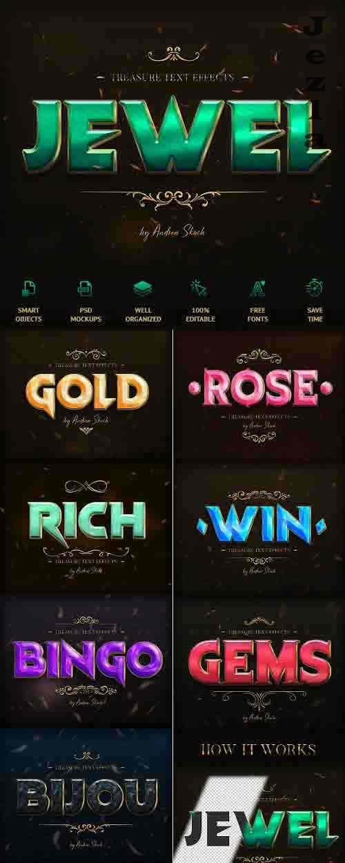 Treasure Text Effects - 26399587
