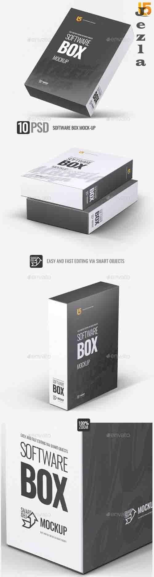 Software Box Mock-up  - 27879232